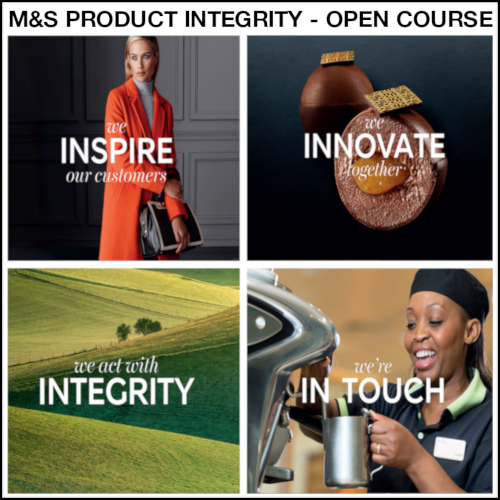 M&S Product Integrity Open Course