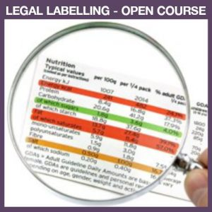 Legal labelling open course