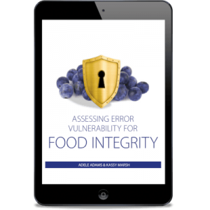 Assessing Error Vulnerability for Food Integrity E-book