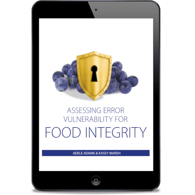 Assessing Error Vulnerability for Food Integrity E-book