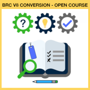 BRC V8 Conversion Course