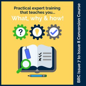 BRC issue 8 compliance training