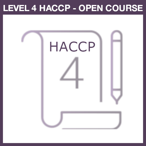 Level 4 HACCP Open Course